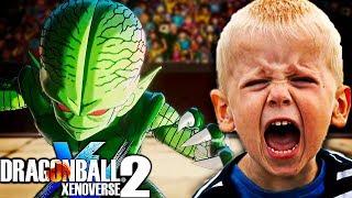 🤣🤣🤣¡¡¡LE GANO CON SAIBAMAN y ME INSULTA!!! 🤣🤣🤣 Dragon Ball Xenoverse 2