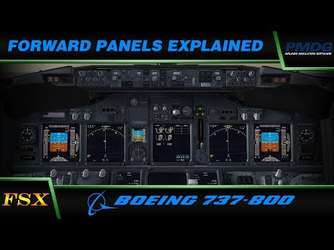 Download Panel 737 Desktop Avec Overhead 737 V2 Pmdg 737 800