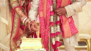 Sonali & Neerav//Gujarati Wedding Highlights//Oshwal Centre