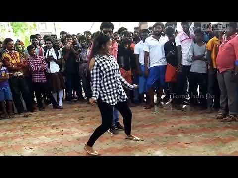 Vijay TV Actor and Actress Dance in Outdoor Vadi machiniye Song