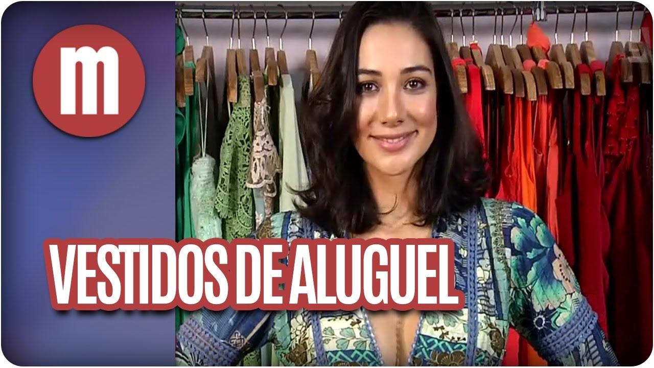 b2c7fbf6f5f Aluguel de vestidos de festa - Mulheres (09 11 16) - YouTube