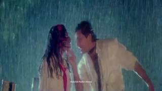 Milenge Jab Ha Ha Ha Barish Hogi { Balma 1992 } Bollywood HD Song   Alka Yagnik, Kumar Sanu  