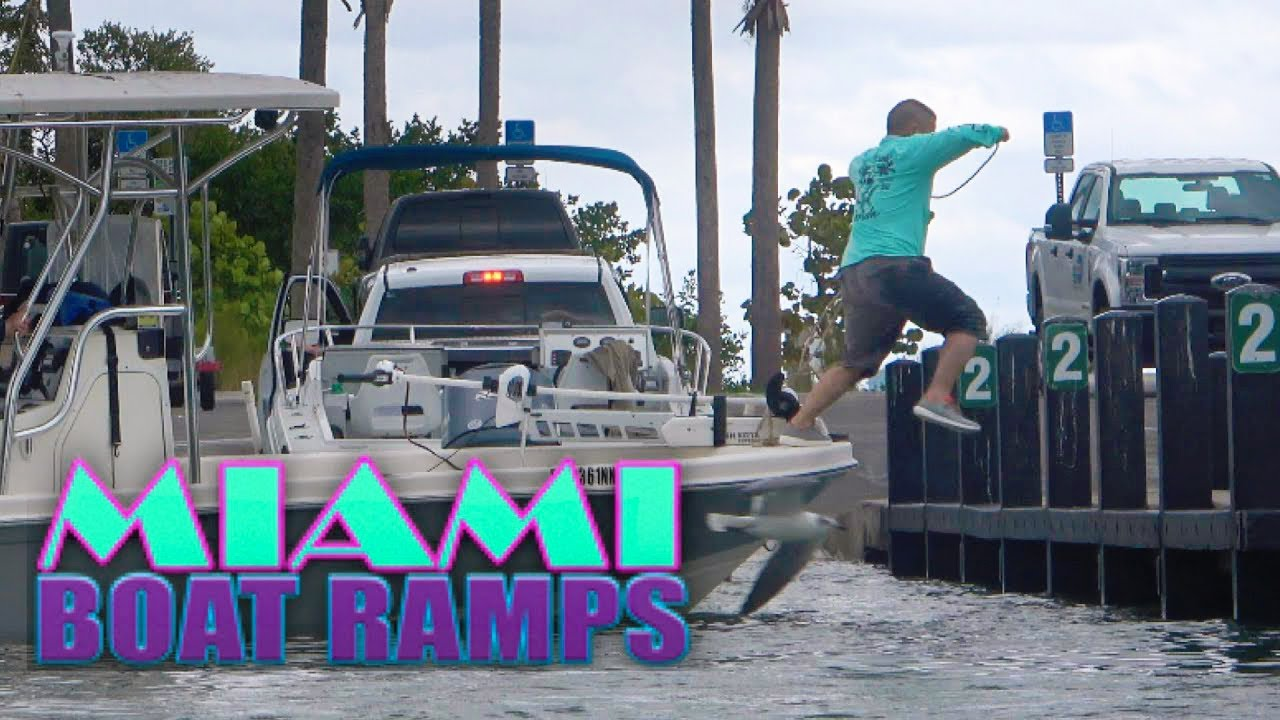 Leaping For The Dock | Miami Boat Ramps | 79st Boat Ramps