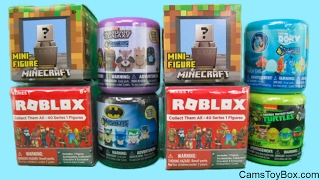 Roblox Minecraft Surprise Toys Mashems Finding Dory Batman TMNT Mini Figure Guardians of the Galaxy