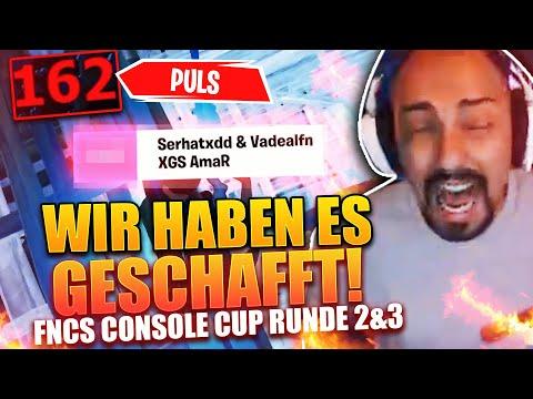 🔥 WIR SIND IN DEN SEMIS *160er PULS*   FNCS Console Cup Runde 2 & 3