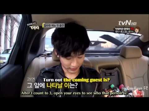 (Engsub) TvN's Taxi. Kim Soo Hyun. Ep 234 Part 1/6