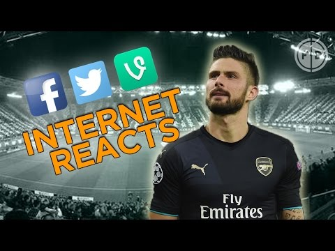 Olympiacos 0-3 Arsenal | Internet Reacts