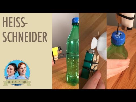 Heissschneider | Styroporschneider DIY | Heissdraht | Feuerzeug Life Hacks
