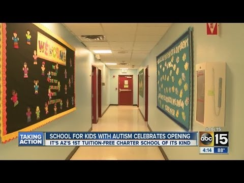 Valley school for kids with autism celebrates opening