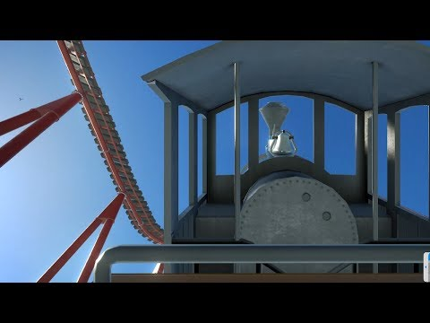 Building a Roller Coaster that doesn't kill you in Planet Coaster |