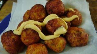 Сырно-картофельные шарики во фритюре