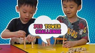 EP 11 - Peg Tower Challenge | Jack Of All