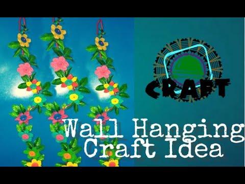 Make a wall hanging//ওয়াল ঝুলন্ত আইডিয়াস