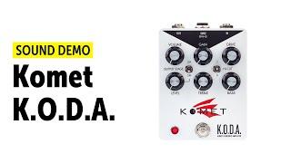 Komet K.O.D.A. - Sound Demo (no talking)