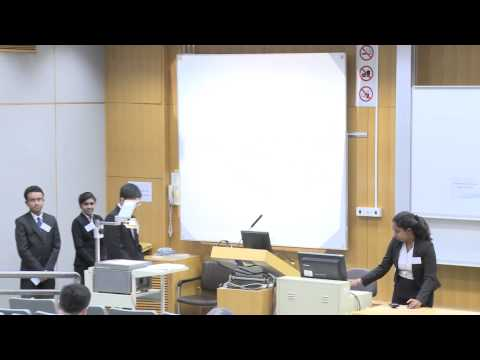 HSBC Asia Pacific Business Case Competition 2014   Round 1 A1   University Of Colombo, Sri Lanka