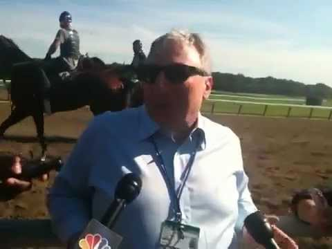 Paul Reddam at Belmont Stakes