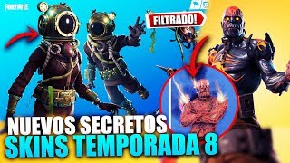*SEASON 8* NEW SECRETS *FINAL EVENT* SUBMARINA TEMATICA!! FILTERING ? FORTNITE BATTLE ROYALE
