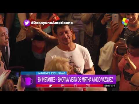 El emotivo saludo y reconocimiento de Mirtha Legrand a Nico Vázquez