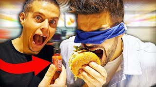 BLIND FOOD TEST #3 (Deviner les yeux bandés feat. Alan FoodChallenge)