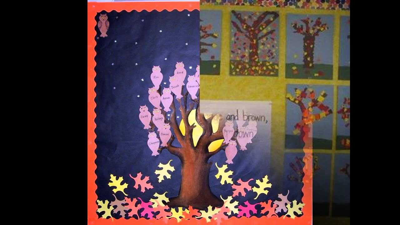 Simple Fall Bulletin Board Ideas Preschool