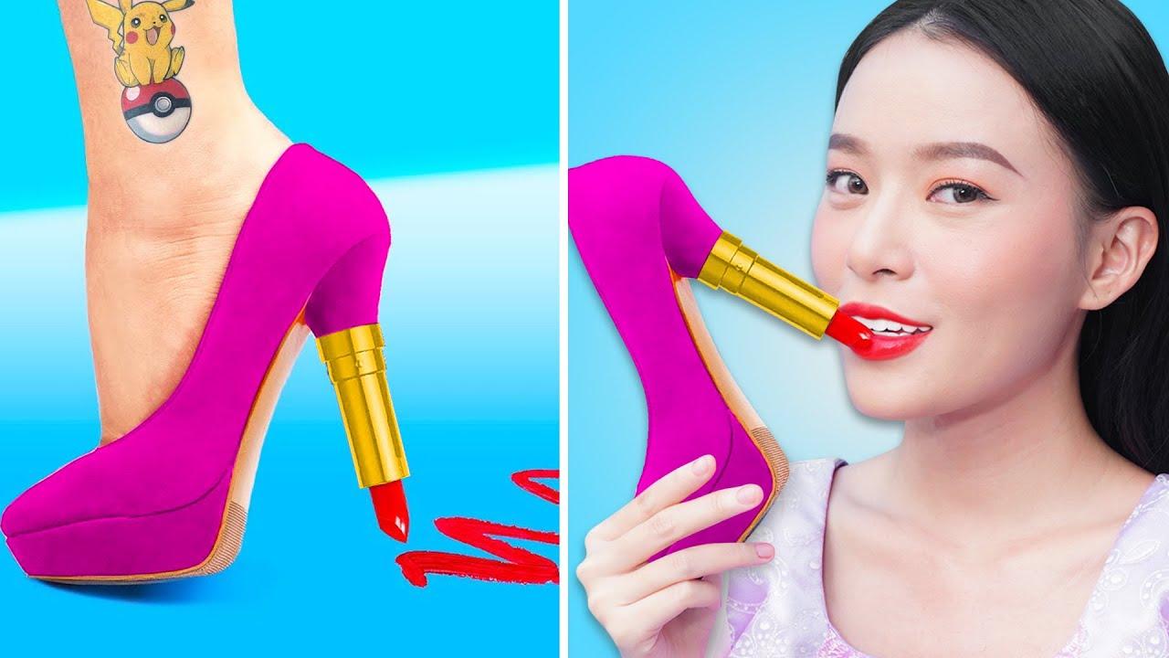 Princesa Maquillarse A Escondidas En Clase | Formas De Colar Maquillaje En Clase Por T-STUDIO ES