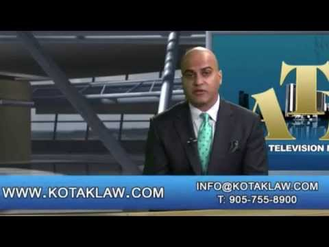 Kotak Personal Injury Law - Nainesh discusses Personal Injury Compensation on ATN
