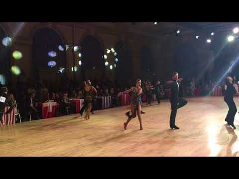 Kirill Belorukov & Polina Teleshova-WDC | Disney 2017 | Professional LAT  - Jive
