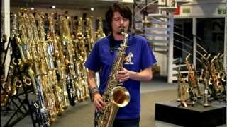 P.Mauriat Le Bravo Tenor Saxophone