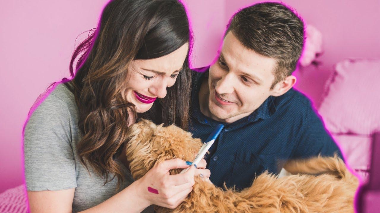 LIVE Pregnancy Test Reveal