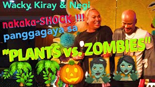 "Wacky Kiray and Negi impersonate ""KUYA KIM"" and ""GUS ABELGAS"" pati ""PLANTS vs. ZOMBIES"""