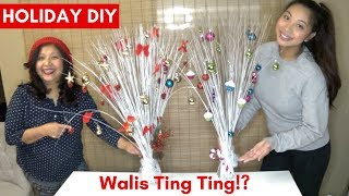 Walis Ting Ting (Broom) Christmas Tree DIY | PHILIPPINE ART PROJECT