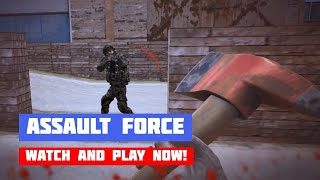 Assault Force · Game · Gameplay