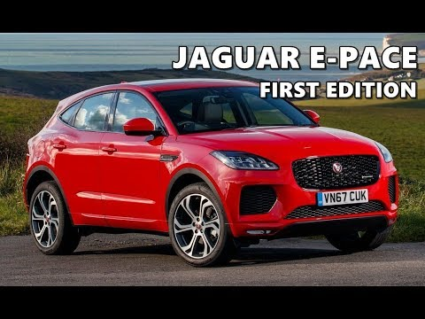 2018 Jaguar E Pace First Edition Test Drive Youtube