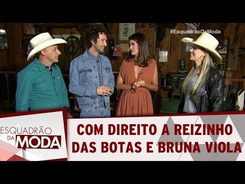 Surpresa Com Direito A Reizinho Das Botas E Bruna Viola! | Esquadrão Da Moda (03/09/17)