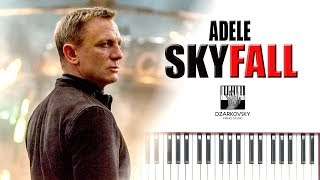 Skyfall - Adele (Piano Cover) James Bond Theme by Andrew Dzarkovsky
