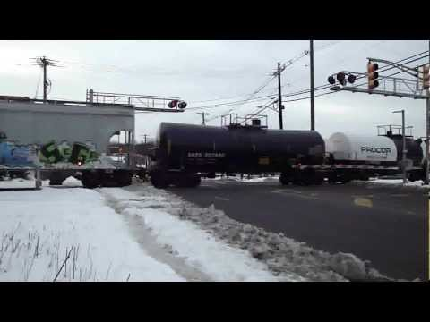 Freight Train Crossing in Northern New Jersey