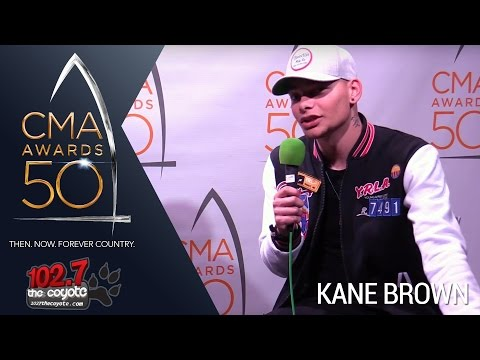 CMA Awards 50: Kane Brown Talks FGL Tour & Wanting To Meet Randy Travis