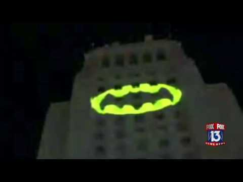 Bat-Signal lights up L.A. City Hall in honor of Adam West