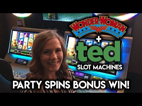 🎉🎉🎉Ted Slot Machine ✦ PARTY SPINS!🎉🎉🎉 ✦ WIN! NICE Random Feature