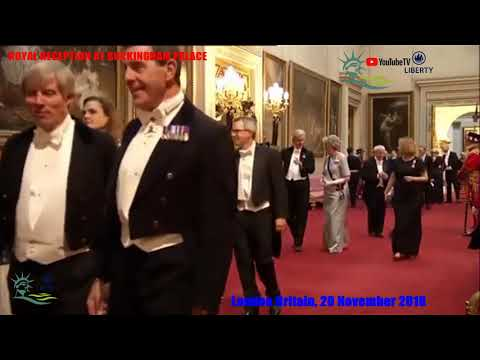 ROYAL RECEPTION AT BUCKINGHAM PALACE © 2018