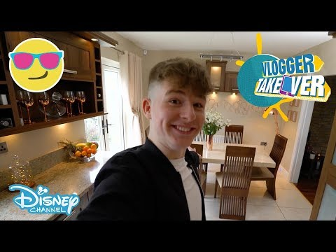 Vlogger Takeover | House Tour -TheNewAdamb99 🏠 | Disney Channel UK