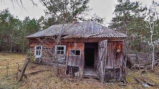 Нашел тайник сталкеров в заброшенном доме в Чернобыле. Что здесь случилось за 32 года
