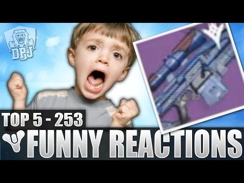 Destiny: Epic Longbow Roll! - Top 5 Insane Reactions To Loot Drops / Episode 253