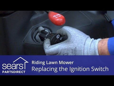 Replacing An Ignition Switch On A Riding Lawn Mower