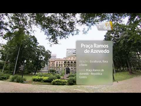 Gazeta Indica - Praça Ramos de Azevedo