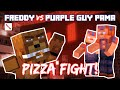 Freddy Fazbear vs Purple Guy PAMA Pizza Fight! Minecraft Story Mode (FNAF Theme)