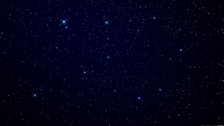 [10 Hours] Stars at Night BLUE B/G - Video & Audio Crickets [1080HD] SlowTV