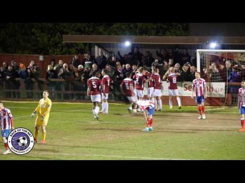 Ryman Div One South SEMI FINAL: Dorking Wanderers v Hastings Utd