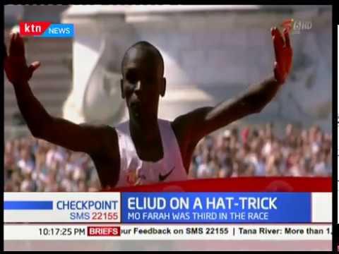 Eliud Kipchoge bags his 3rd title in London marathon