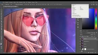 Secondlife - Photoshop // Speed editing //#3